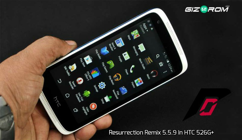 Install Stable Ported Lollipop Resurrection Remix 5 5 9 In HTC 526G+