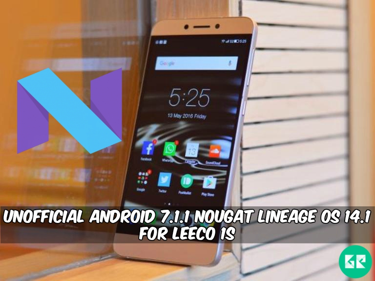 Nougat Lineage OS 14.1 For LeEco Le 1S