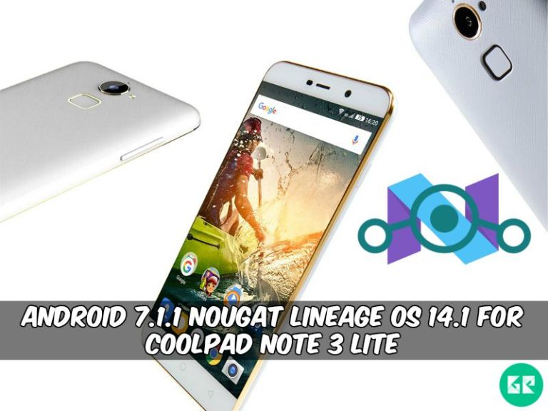 Lineage OS 14.1 For Coolpad Note 3 Lite