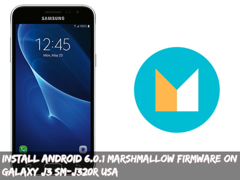 Install Android 6 0 1 Marshmallow Firmware On Galaxy J3 SM