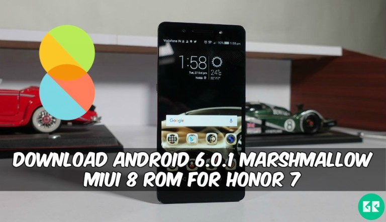 Marshmallow MiUI 8 ROM For Honor 7 - Download Android 6.0.1 Marshmallow MiUI 8 ROM For Honor 7