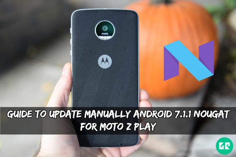 Android 7.1.1 Nougat ROM For Moto Z Play