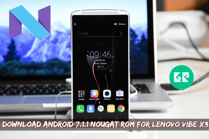 MoKee Android 7.1.1 Nougat ROM For Lenovo Vibe X3