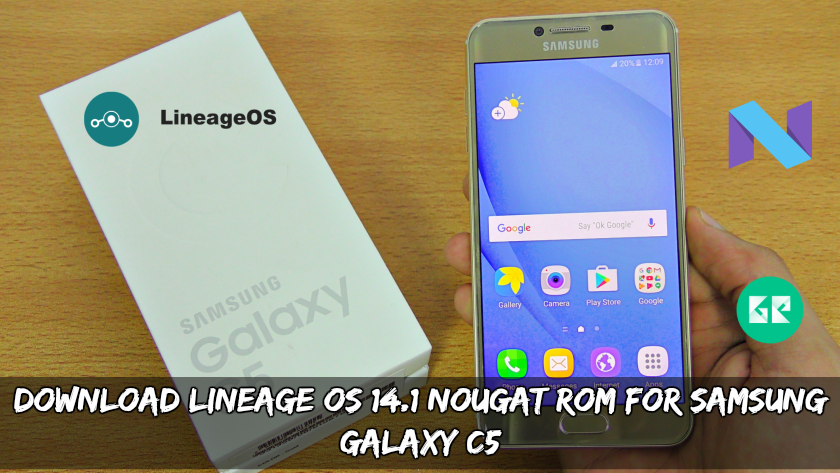 Download Lineage OS 14.1 Nougat ROM For Samsung Galaxy C5