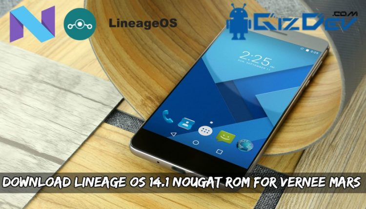 Download Lineage OS Nougat ROM For Vernee Mars