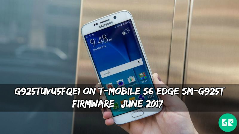 G925TUVU5FQE1 On T-Mobile S6 Edge G925T Firmware