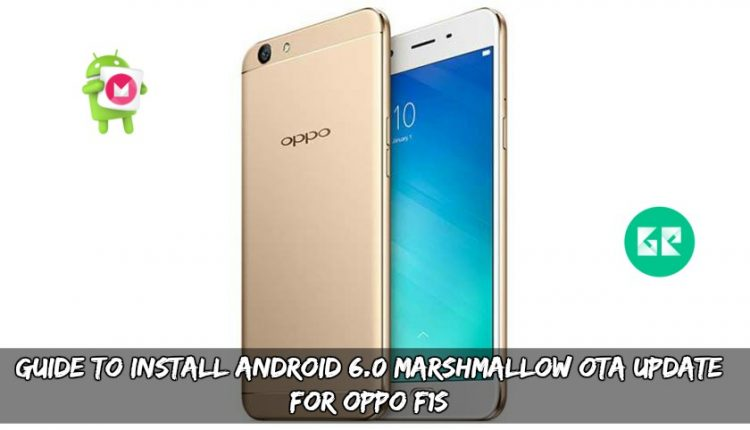Guide To Install Android 6.0 Marshmallow OTA Update For Oppo F1S