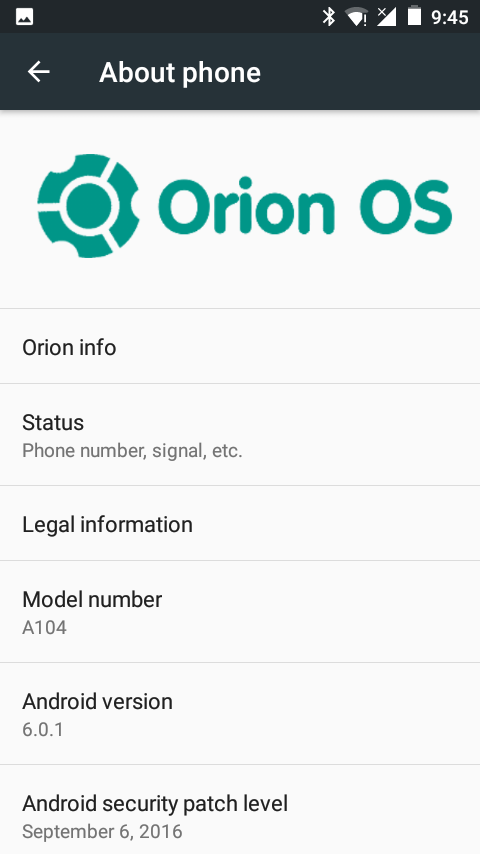 Orion OS R67 For Micromax Canvas Fire A104 2 - Download Orion OS Marshmallow ROM For Canvas Fire 2 A104