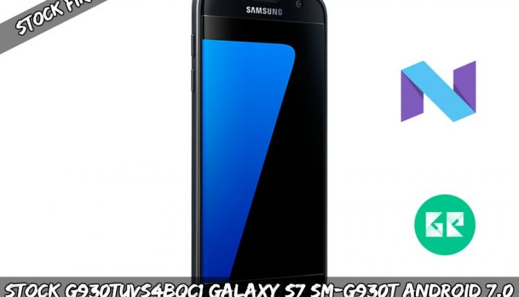 Stock G930TUVS4BQC1 Galaxy S7 SM-G930T Android 7.0 Firmware