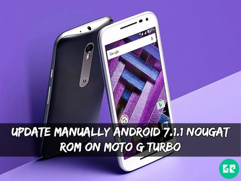 Android 7.1.1 Nougat ROM On Moto G Turbo