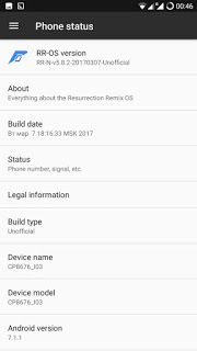 Coolpad Note 3 Plus RR ROM 3 - Install 5.8.3 Resurrection Remix Nougat ROM For Coolpad Note 3 Plus
