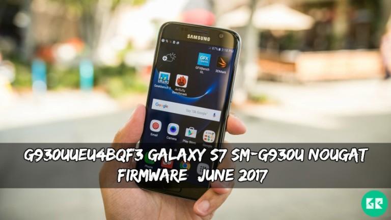G930UUEU4BQF3 Galaxy S7 SM-G930U Nougat Firmware
