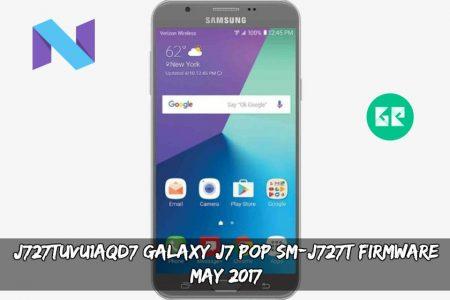 J727TUVU1AQD7 Galaxy J7 POP SM-J727T Firmware (May 2017)