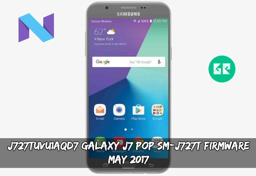 J727TUVU1AQD7 Galaxy J7 POP SM-J727T Firmware (May 2017)