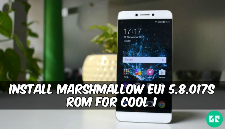 eUI 5.8.017s ROM For Cool 1