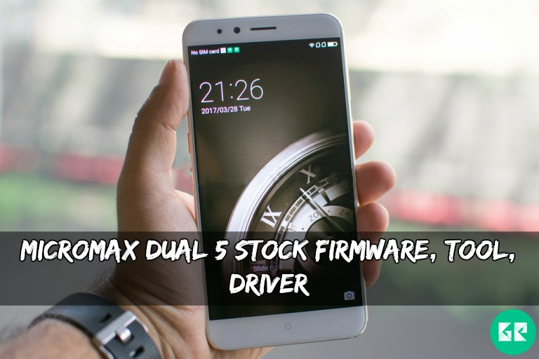Micromax Dual 5 Stock Firmware, Tool, Driver