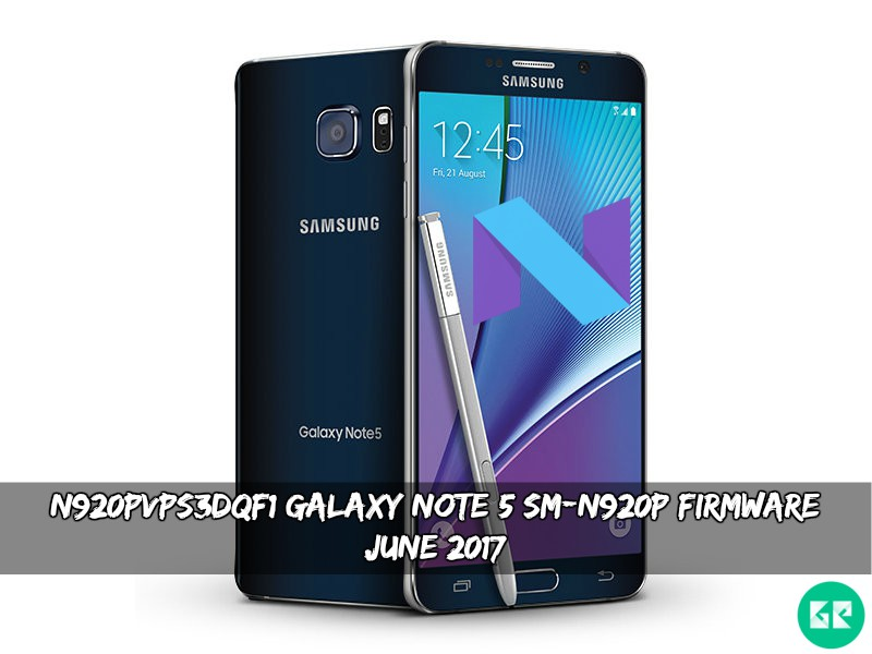 N920PVPS3DQF1 Galaxy Note 5 SM-N920P Firmware