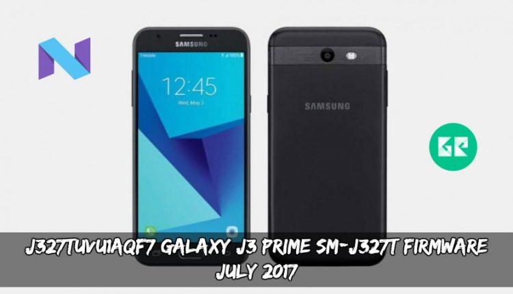 J327TUVU1AQF7 Galaxy J3 Prime SM-J327T Firmware (July 2017)