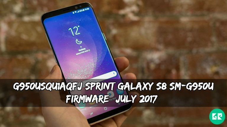 G950USQU1AQFJ Sprint Galaxy S8 SM-G950U Firmware