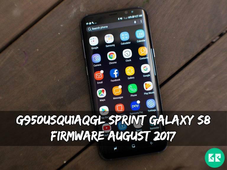 G950USQU1AQGL Sprint Galaxy S8 Firmware