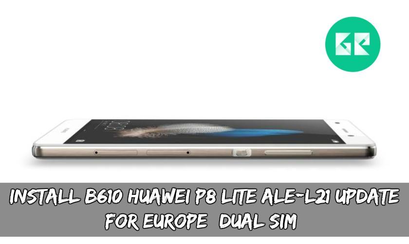 huawei p8 lite new update download