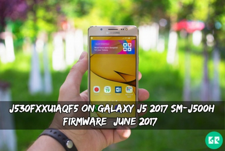 J530FXXU1AQF5 On Galaxy J5 2017 SM-J500H Firmware