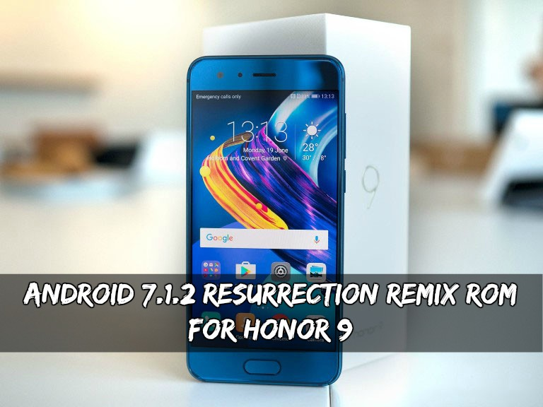 Resurrection Remix ROM For Honor 9