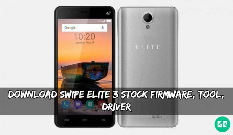 Swipe Elite 3 Stock Firmware