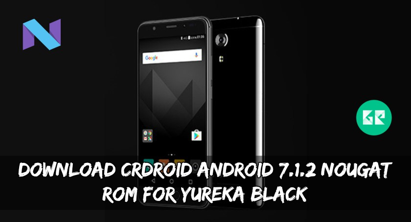 Download CrDroid Android 7.1.2 Nougat ROM For Yureka Black
