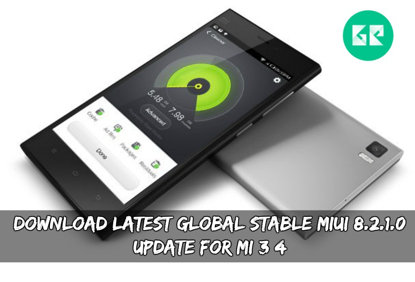 Download Latest Global Stable MIUI 8.2.1.0 Update For MI 3/4