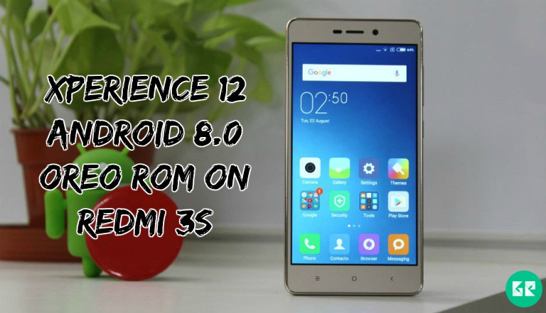 XPerience 12 Android 8.0 Oreo ROM On Redmi 3S