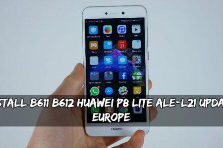 Install B611/B612 Huawei P8 Lite ALE-L21 Update (Europe)
