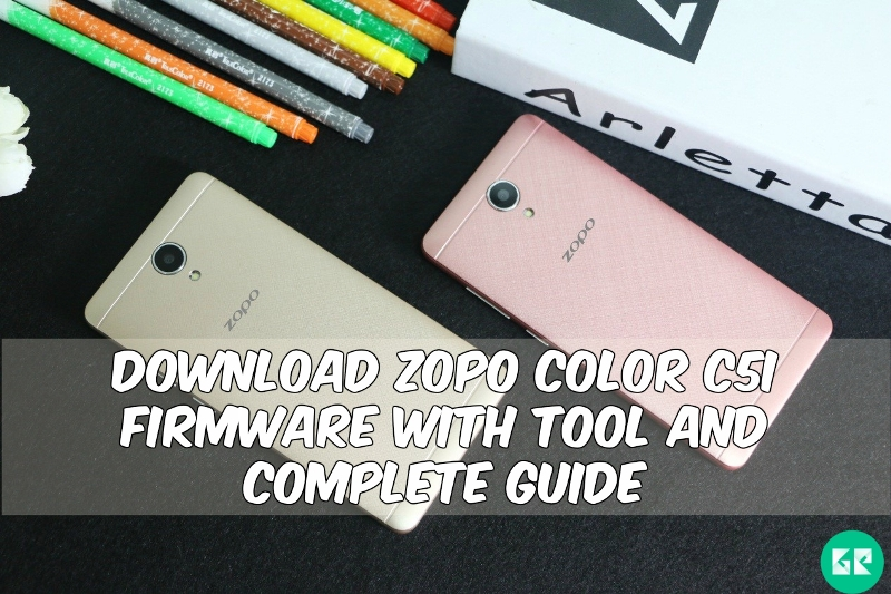 zopo color c5 - Download ZOPO Color C5I Firmware With Tool and Complete Guide