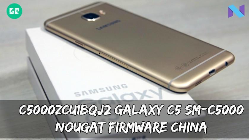 C5000ZCU1BQJ2 Galaxy C5 SM-C5000 Nougat Firmware China