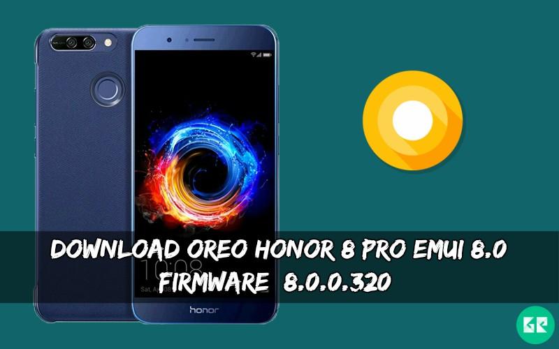OREO Honor 8 Pro EMUI 8.0 Firmware