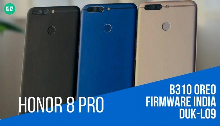 EMUI 8.0 Based Honor 8 Pro B310 OREO Firmware [8.0.0.310][India]