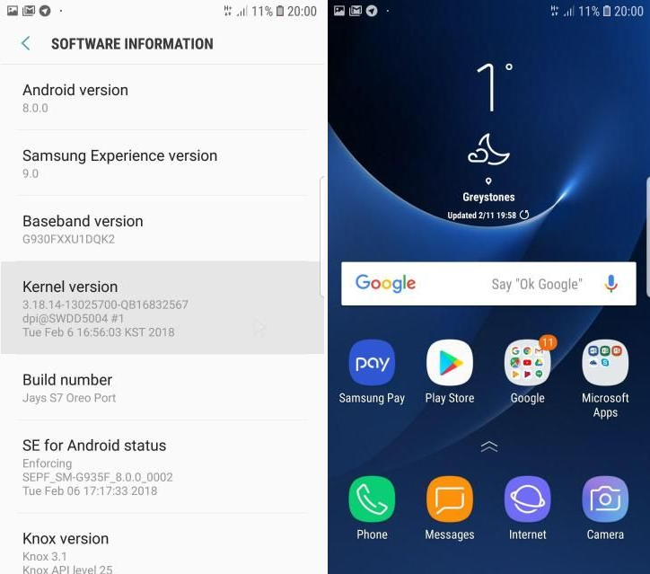 Guide To Install Experience 9 0 Oreo ROM On Galaxy S7 Edge