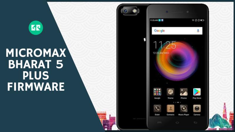 Micromax Bharat 5 Plus Firmware