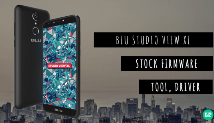 BLU Studio View XL Stock Firmware, Tool, Driver