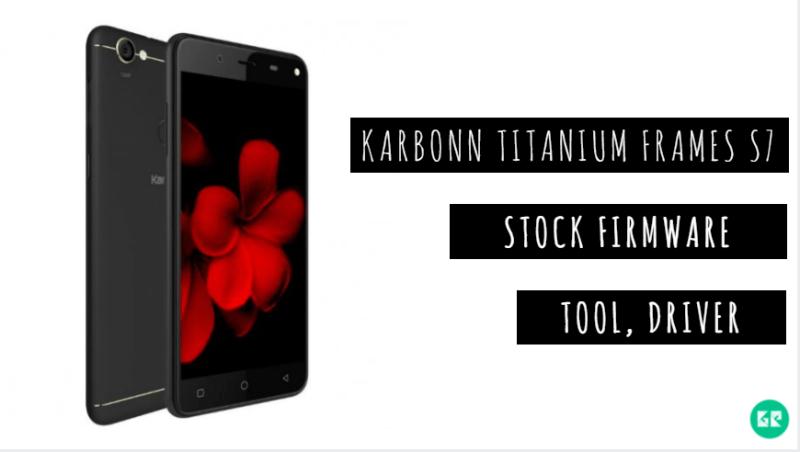 Karbonn Titanium Frames S7 Stock Firmware