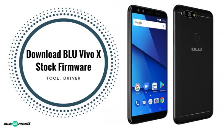 Latest BLU Vivo X Stock Firmware