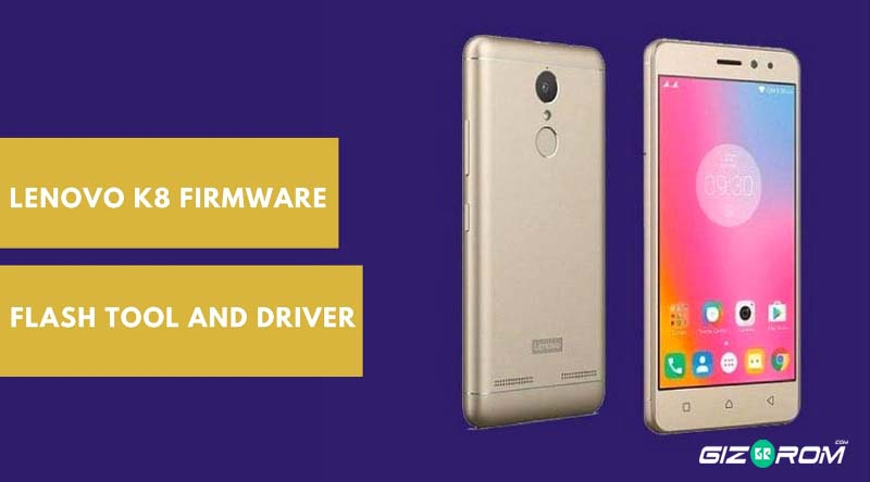 Latest Lenovo K8 Firmware With Flash Tool and Driver (XT1902-1)
