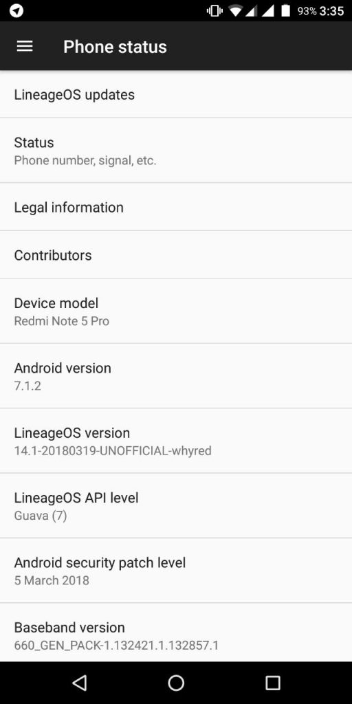 Install Android 7 1 2 LineageOS 14 1 ROM For Redmi Note 5 Pro