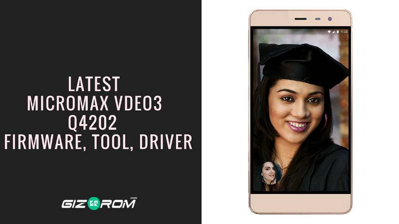 Micromax Vdeo 3 Firmware