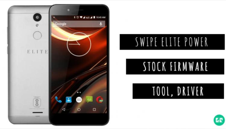Swipe Elite Power Stock Firmware