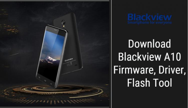Blackview A10 Stock Firmware