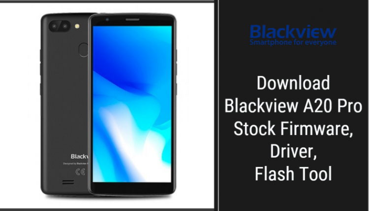Blackview A20 Pro Stock Firmware