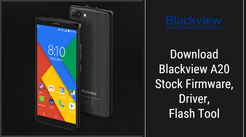 Blackview A20 Stock Firmware