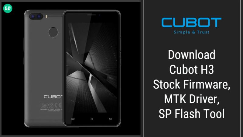 Cubot H3 Firmware