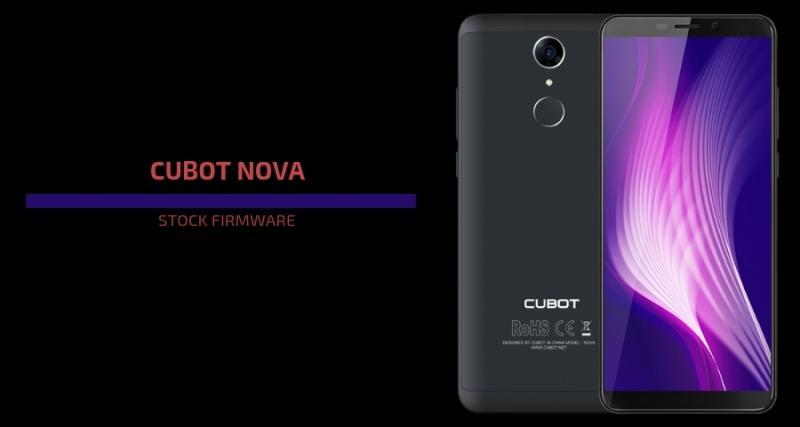 Cubot Nova Firmware